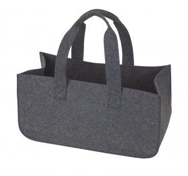 Kaminholz-Tasche aus Filz